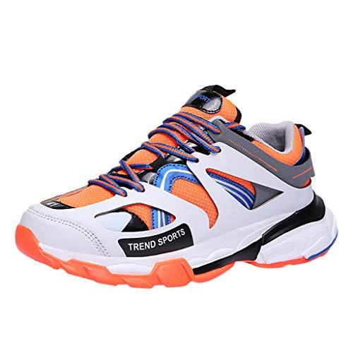 MMLC_Scarpe Running Basse Uomo Sneakers Leggeri Traspirante Scarpe Casual da Corsa Moda Unisex Scarpe da Fitness Unisex - Adulto