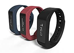 Es Traders Unisex I5 Plus Fitness Tracker, Blue, One Size