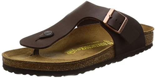 Birkenstock Ramses, Unisex-Adults' Sandals, Dark Brown, 8 UK (42 EU) (9 M)