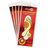 5er Pack Thermopad Sohlen-Wärmer | kuschlig warme Füße | sofort einsatzbereit | 8 Stunden lang 37°C | einfache Anwendung wohltuender Wärme-Kissen | Größe S