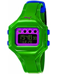 Puma Damen-Armbanduhr Digital Quarz Plastik PU910772007