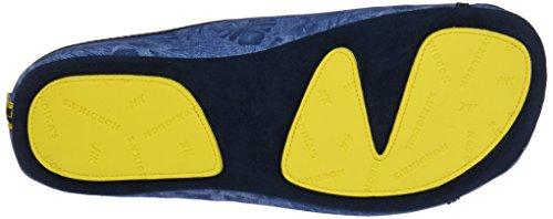 Nordikas 3195, Chaussons à Talon Ouvert Homme Bleu