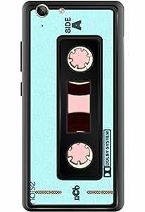 Lenovo Vibe K5 Designer Printed Covers & Protective Hard Back Case / Cover for Lenovo Vibe K5 / Patterns & Ethnic / Cassette Design- By Noise