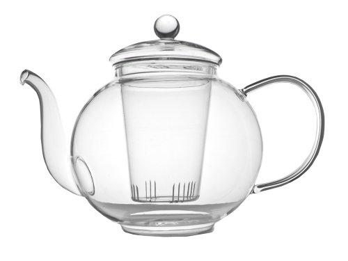 Verona einwandige Glas-Teekanne 1,5L inkl. Filter 1.5 Liter Glas