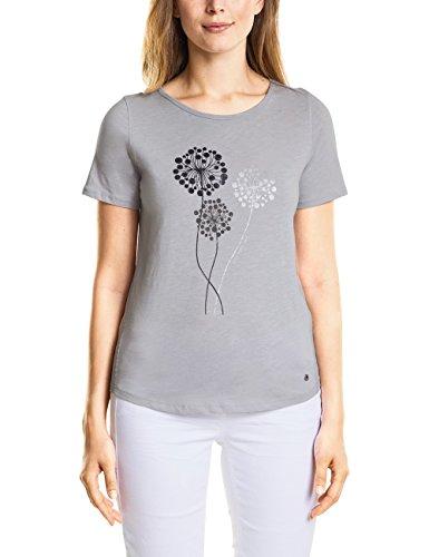 Cecil Damen T-Shirt 312260, Grau (Cool Silver 31294), X-Small Preisvergleich