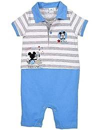0614ee234c99 Barboteuse Polo bébé garçon Disney Mickey Bleu et Rouge de 3 ...