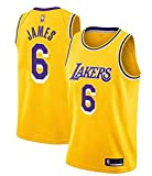 WOLFIRE SC Camiseta de Baloncesto para Hombre, NBA, Los Angeles Lakers #8#24 Kobe Bryant. Bordado Swingman Transpirable y Resistente al Desgaste Camiseta para Fan