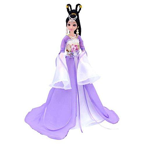 Elegante chinesische alte Kostüm Menschen Puppen Mädchen Prinzessin -