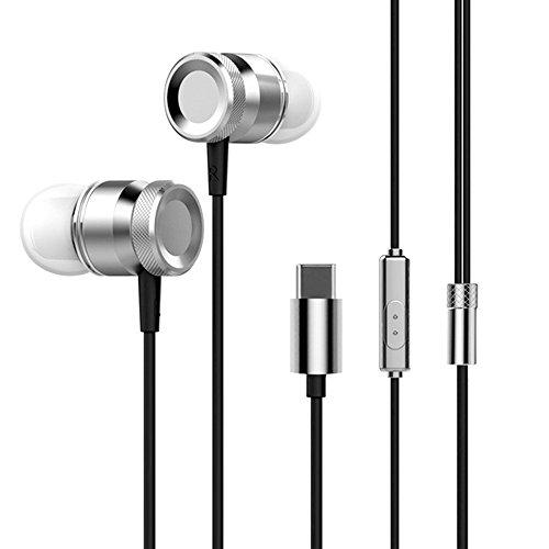 Docooler USB Type-C In-Ear Wired Metal Earphone Headset