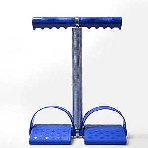 K-DD Elastische Sit Up Pull Seil Federspannung Seil mit Griff Fußpedal Bauch Trainer Multifunktions Bein Exerciser Gewichtsverlust Fitness Yoga