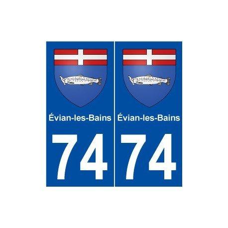 74vian-les-bains-escudo-adhesivo-placa-stickers-ville-redondeados