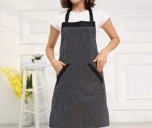 chsene Kochschürze Ölbeständige Kleider Hause Koreanische Damenmode Ärmellose Küchenarbeitskleidung Hängen Hals Taille A ()