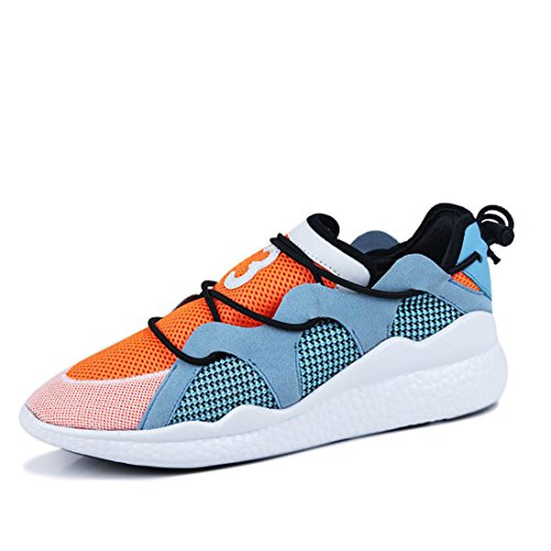 Men's Air Mesh High Quality Breathable Tennis Shoes Y20 orange