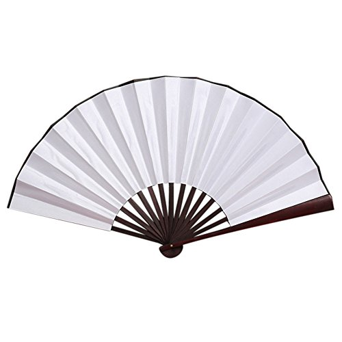 Solid Tanz Kostüm Gold - Ziyou Muster Falttanz Hochzeit Party Lace Silk Folding Hand Solid Color Fan( 33cm, Mehrfarbig A)