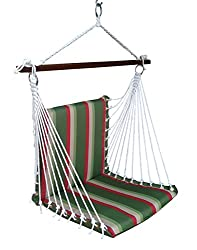 Hangit Polyester Premium Cushioned Hammocks Swings Chair for Home Indoor
