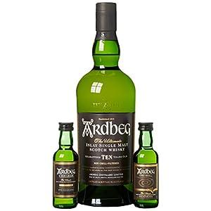 Ardbeg Single Malt Whisky Exploration Pack (1 x 0.7 l, 2 x 0.05 l)