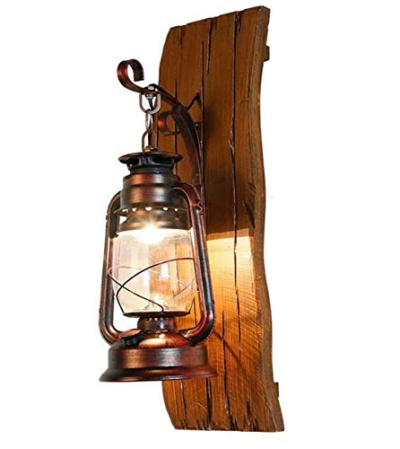 Kronleuchter Kronleuchter Kunst-Lampen Retro Hängelampe Deckenleuchte Lampen-Hölzerne Skulptur-Antike Mittelalter-Art-Wandlampe Festes Holz Wallboard -