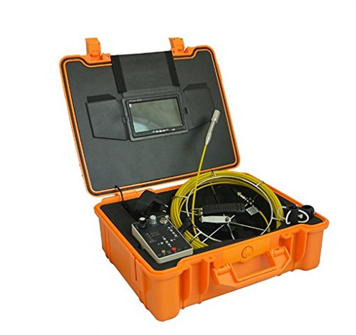 Gowe 17,8cm TFT LCD DVR Rohr und Wand Inspektion Kamera System mit DVR 30m Push Kabel Spule Sensor Größe: 1/10,2cm; horizontale Auflösung: 420TVL; Signal System: NTSC Ntsc Wand