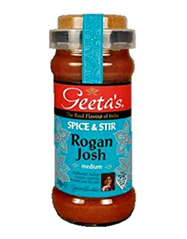 "Geeta´s Rogan Josh ""medium"" Spice & Stir 350g"
