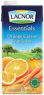 Lacnor Essentials Orange & Carrot Fruit Drink - 1 L