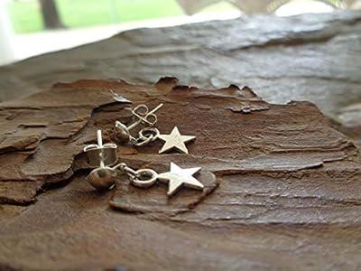 ? SMALL STAR PLUG ? BOUCLES D'OREILLES STARS, PETITES BOUCHONS, Boucles d'oreilles filles, Boucles d'oreilles enfants