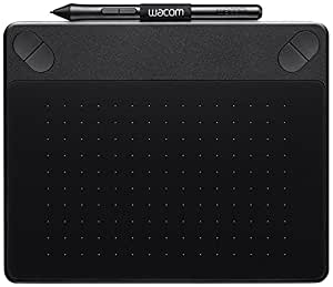 Wacom Intuos CTH-490AK-S Art Pen and Touch Graphics Tablet - Small, Black