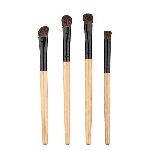 4PCS/Set Maquillage Outils Fard à Paupières Eye Ombre Foundation Lip Pinceaux