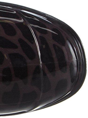 Chuva Elsa PVC DAMESLAARS zwart, Bottes en Caoutchouc de Hauteur Moyenne, Non Doublées Femmes Noir - Schwarz (Schwarz(Zwart) 00)