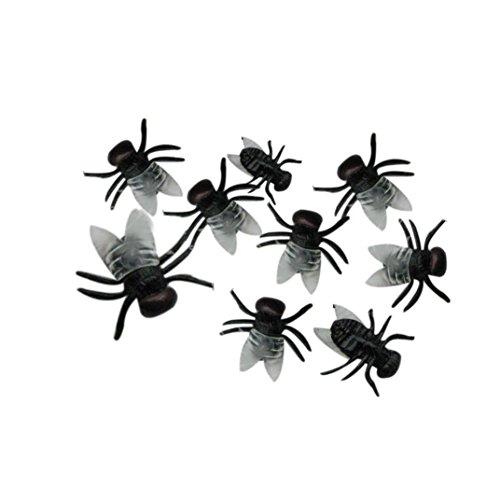 Ama (TM) 20Stück Kid Kinder Halloween Realistische Kunststoff Halle Scherz Spielzeug Dekoration (Halloween Clearance Animatronics)