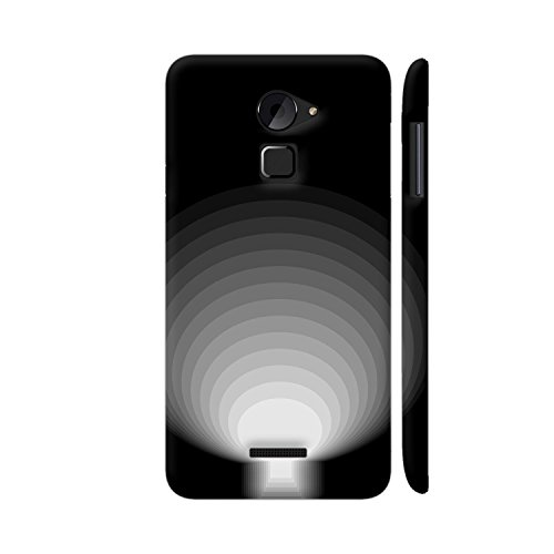 Colorpur Door In Dark Printed Mobile Back Cover For Coolpad Note 3 Lite (Matte Black)