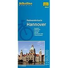 Hannover (RW-H1) Burgdorf, Hildesheim, Neustadt, Weserbergland, Steinhuder Meer, Springe, 1:60 000, wetter- und reißfest, GPS-tauglich mit UTM-Netz