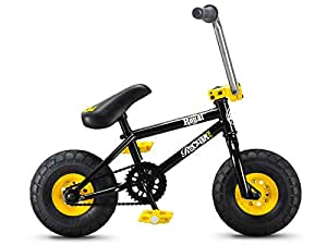 rocker irok mini bmx bike farbe black and yellow amazon. Black Bedroom Furniture Sets. Home Design Ideas