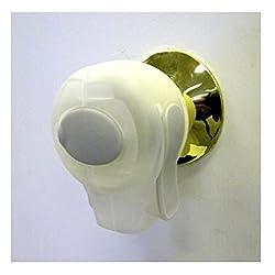 KidCo Door Knob Lock ** 5 PACK ** (CLEAR) plus ** BONUS ** Tooth Tissues