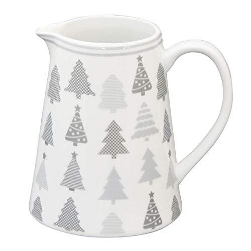 Krasilnikoff CR 386 Milchkännchen - Milchgießer - Creamer - Weihnachtsbaum - Tannenbaum - 220 ml Design Creamer