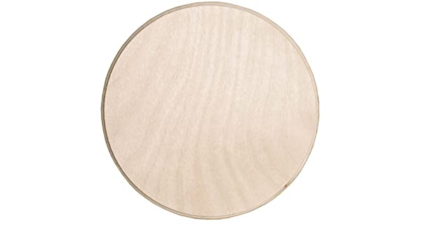6 by 6 Walnut Hollow 24623 Baltic Birch Circle Plaque