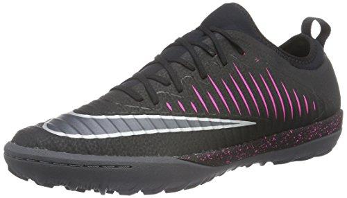 Nike Uomo Mercurialx Finale Ii Tf scarpe da calcio, Nero (Black/Black-Pink Blast-Gm Lght BRWN), 44 EU