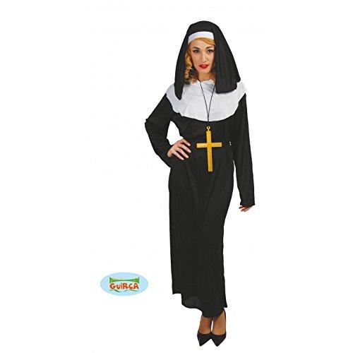 Guirca 80031 - Costume da Suora Tunica da Monaca, 40-44