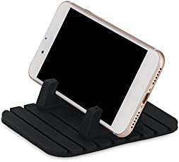 Cell Phone Car Mount Holder Stands,Anti Slip Silicone Mat,Universal for Mobile Phones and GPS Navigation by Leoie