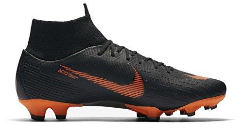 reputable site 12cdd 006d5 Nike Herren Mercurial Superfly VI Pro FG Fußballschuhe, Schwarz  (Black Total Orange-