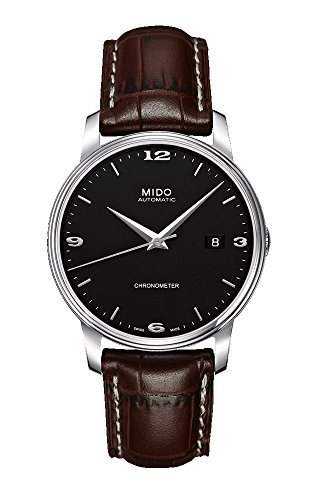 Mido Men's Automatic Watch by Baron Analogue Stainless Steel M0104081605110
