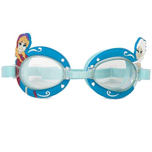 Disney Schwimmbrille zum Tauchen im Frozen Design mit Anna und Elsa – Kinder Taucherbrille