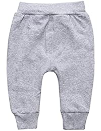 CHshe Baby Trouser, Newborn Toddler Boys Plaid Pencil Pants Warm Leggings for 6-24 Months