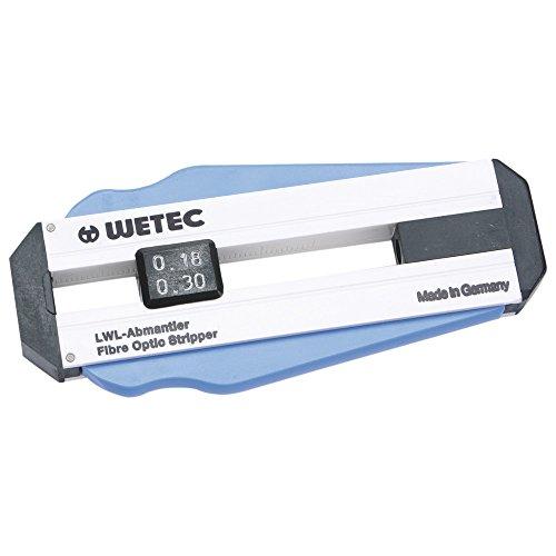 Wetec Präzisions-Abisolierer, für Lichtwellenleiter, 0,18 mm