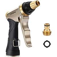 Crenova Pistola da Giardino HN-01 Pistola Irrigazione/Pistola Spray ad Alta Pressione per Autolavaggio, Irrigazione Giardino/Prato,Pulizia Camera/Pedana/Pavimento con Flusso d'Acqua Regolabile