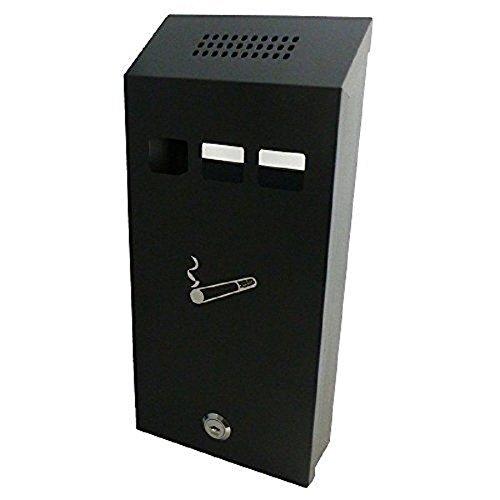 Preisvergleich Produktbild Generic dyhp-a10-code-6331-class-1 – Heavy Metal Stahl Zigarette Bin Meta Outdoor Aschenbecher Cigare Wand montiert Wand Ash Bin r ashtr – -nv _ 1001006331-hp10-uk