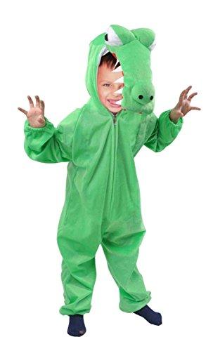 64/00 Gr. 80-86, für Babies und Klein-Kinder, Krokodil-Kostüme Krokodil für Fasching Karneval, Alligator Klein-Kinder Karnevalskostüme, Kinder-Faschingskostüme ()