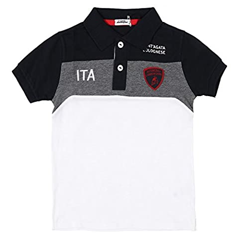 Lamborghini Kids Automobili Lamborghini Polo Shirt 10 Yrs