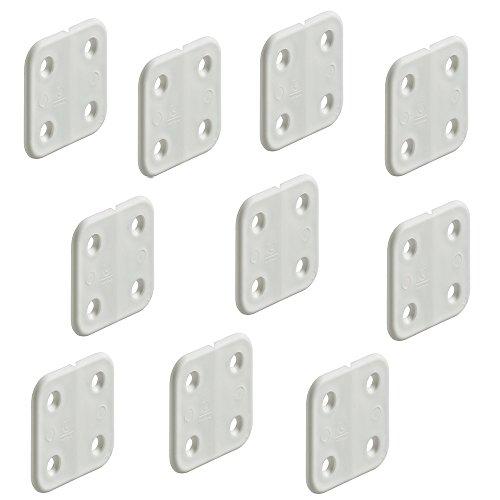 10 piezas - gedotec plástico -scharnier Sin Articulaciones Bisagra de Muebles 40...