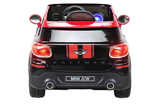 RC Auto kaufen Kinderauto Bild 6: Actionbikes Motors Kinder Elektro Auto Mini Cooper Paceman John Cooper Works Kinderauto Elektroauto Lizenziert 2 x 45 Watt Motor (Schwarz)*