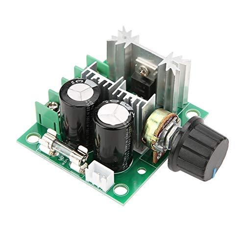 DC Motor Governor,Gleichstrommotorregler 12V-40V 10A PWM DC-Motorregler Pumpe stufenlos Drehzahl regelbares Geschwindigkeit Schaltermodul ,Mit umgekehrter Verbindungsschutzfunktion (Motor-pumpe)